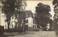 Rockville CT Hospital Postcard