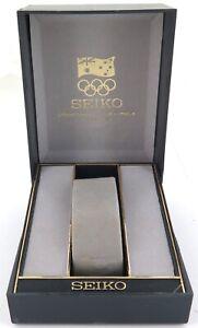 .RARE 1996 AUSTRALIAN OLYMPICS SEIKO MENS WATCH DISPLAY BOX. NICE CONDITION.