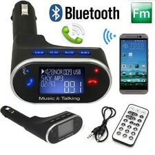 Bluetooth Car Kit Radio Adapter Handsfree FM Transmitter for iPhone Samsung HTC#
