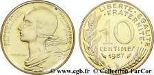 PIECE 10 CENTIMES FRANCS 1987 Marianne - Lot Monnaie Ancienne Rare Coin