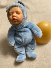 2003 Anne Geddes Nursery Room Newborn Blue Doll Baby Reusable Egg