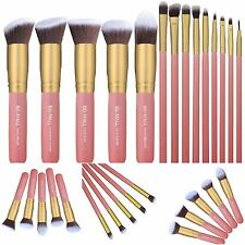 Set Of 14 Eye Makeup Geek Brush Essence Cosmetics Kabuki Classic Face Paint New
