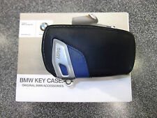 BMW  F22 2 Series F30 3 Series Sedan F32 4 Series Key Case Blue 2012-2017 OEM