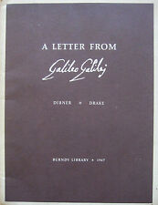 Galileo the Innovator - Lost letter from Galileo on the Magnetic Clock - L@@K