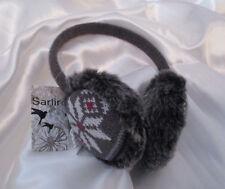 Ohrenwärmer Ohrenschützer Haarreif flauschig Grau Sarlini one size NEU