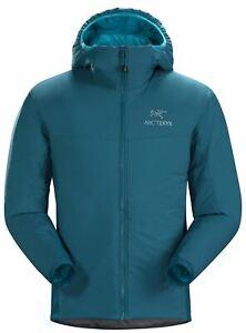 Arc'teryx Men's Atom LT Hoody Jacket Insulated Warm Outdoor Hiking Iliad Blue L