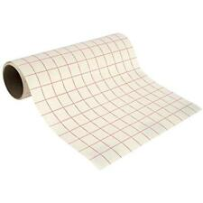 """Angel Crafts Transfer Paper 12"""" By 8' PREMIUM Tape Roll Grid - PERFECT ALIGNMENT"""