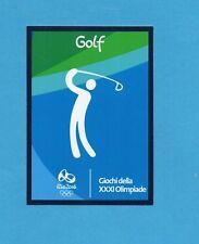 RIO 2016 - PANINI -Figurina CARD n.19/45 - GOLF -NEW