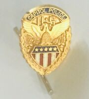 United States Capitol Police 1978 Lapel Pin Badge Rare Vintage (G2)