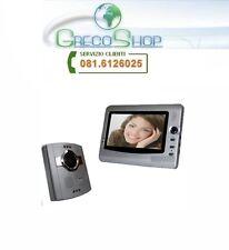 """Videocitofono a colori con monitor LCD da 7"""" - Silver"""