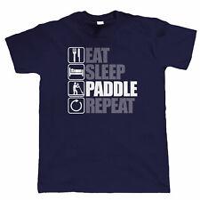 Massive Stock Clearance, Eat Sleep Paddle Board, Mens T Shirt