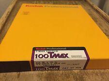 1BOX 50sheet Kodak TMAX100 8x10 b&w film 810 Tmax 100 50x Sheet cold stored 2007