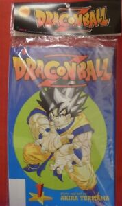 DRAGONBALL Z 1-4 SERIES 3 VIZ CAPTIVA SEALED COMIC PACK CARTOON TORIYAMA 1999 NM
