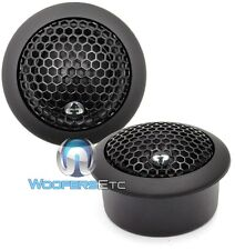"CDT AUDIO DRT-26 1"" MODULAR SILK SOFT DOME TWEETERS  AUDIOPHILE GRADE NEW"