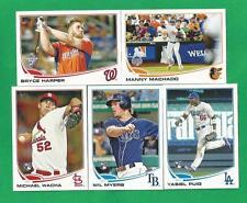 2013 Topps Update Baseball Complete 330 card set US1-US330 HARPER + MACHADO