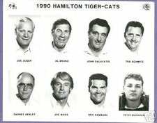 1990  CFL Hamilton Tigercats  Team Photo Set