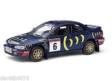 CORGI SUBARU IMPREZA 555 NETWORK Q RAC RALLY 1995 RICHARD BURNS VA12106