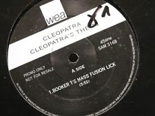 ++CLEOPATRA booker t's mass fusion lick (2 versions) MAXI PROMO WEA VG++