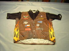 HILL HOUNDS AIG HOUSTON-AUSTIN VOmax Cyclist Jersey Size (8) XXXXL