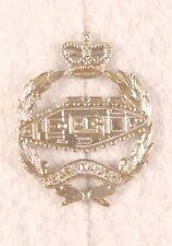 British Badge: The Royal Tank Regiment, collar - white metal
