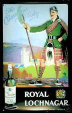 Royal Lochnagar Whiskey embossed steel sign  (hi 3020)