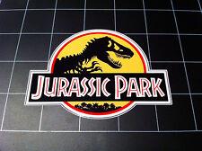 Jurassic Park yellow hardhat raincoat movie logo vinyl decal sticker dinosaur