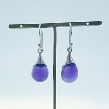 Amethyst Melting Frost Earring Nickel-Free 925 Sterling Silver