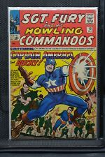 Sgt Fury and His Howling Commandos #13 Marvel Silver Age Comic 1964 Stan Lee 5.5