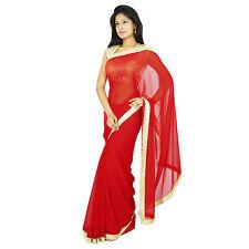 Indischen ethnischen Partei Sari Designer  Bollywood Brautkleid Saree tragen