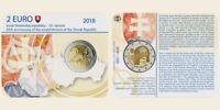 Coincard 2 euro SLOWAKEI 2018 :25. Jahrestag der Republik Slowakei