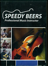 Speedy Beers professional music instructor dvd amazing guitar violin lessons