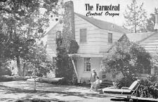 THE FARMSTEAD Roadside Guest House BEND, OR Vintage Oregon Postcard ca 1940s