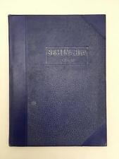 1939 Buffalo Seminary NY Girls High School Yearbook or Annual SEMINARIA