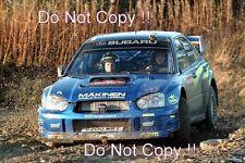 Tommi Makinen Subaru Impreza WRC2003 RAC Rally 2003 Photograph 1