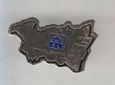 RARE PINS PIN'S .. BANQUE BANK CL LCL CREDIT LYONNAIS FINALE COUPE ST DIE 88 ~A9