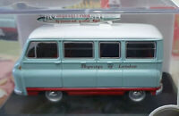Morris J2 Van London Skyways - Scala 1:43 Die Cast - Oxford - Nuovo