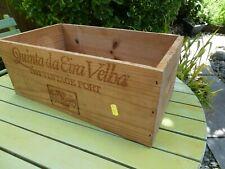 Large Wooden Vintage 1992 Port Box garden  / shelving / storage / DIY NO RESERVE