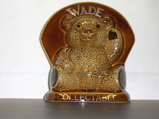 Wade England Collectables Large Ceramic Brown Bear Mint *