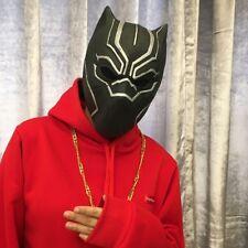 Golden Jaguar 2018 adult Movie Black Panther helmet wearable  Halloween Cosplay