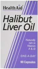 HealthAid Halibut Liver Oil - 90 Capsules