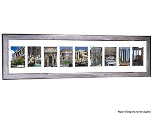 CPF - 10 Opening 10x40 Glass Face Driftwood Frame Holds 4x6 Photo