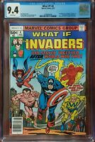 What If? 4 CGC 9.4 Invaders Marvel 1977