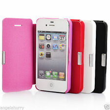Unbranded/Generic Mobile Phone Flip Cases for iPhone 4s