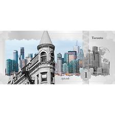 1$ 2017 Cook Islands - Skyline Dollar - Toronto