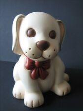 Thun cane cagnolino grande con fiocco rosso altezza cm 15