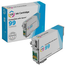 LD Reman T099220 for Epson T099 99 Cyan Ink Cartridge Artisan 700 800 710 835