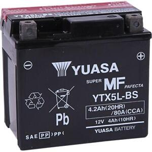 Yuasa - YUAM32X5B - Maintenance Free Battery, YTX5L-BS~