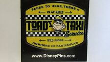 Disney 2016 Pin Mr. Toad's Wild Ride Toad's Taxi Service