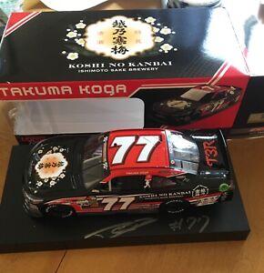Signed 2019 K&N 1:24 TAKUMA KOGA #77 Die-Cast RARE 1/500 NASCAR Licensing Sample