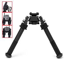 6.5 - 9 in Hunting Rifle QD Tactical Picatinny Bipod Rail pod Bi Flat Adjustable